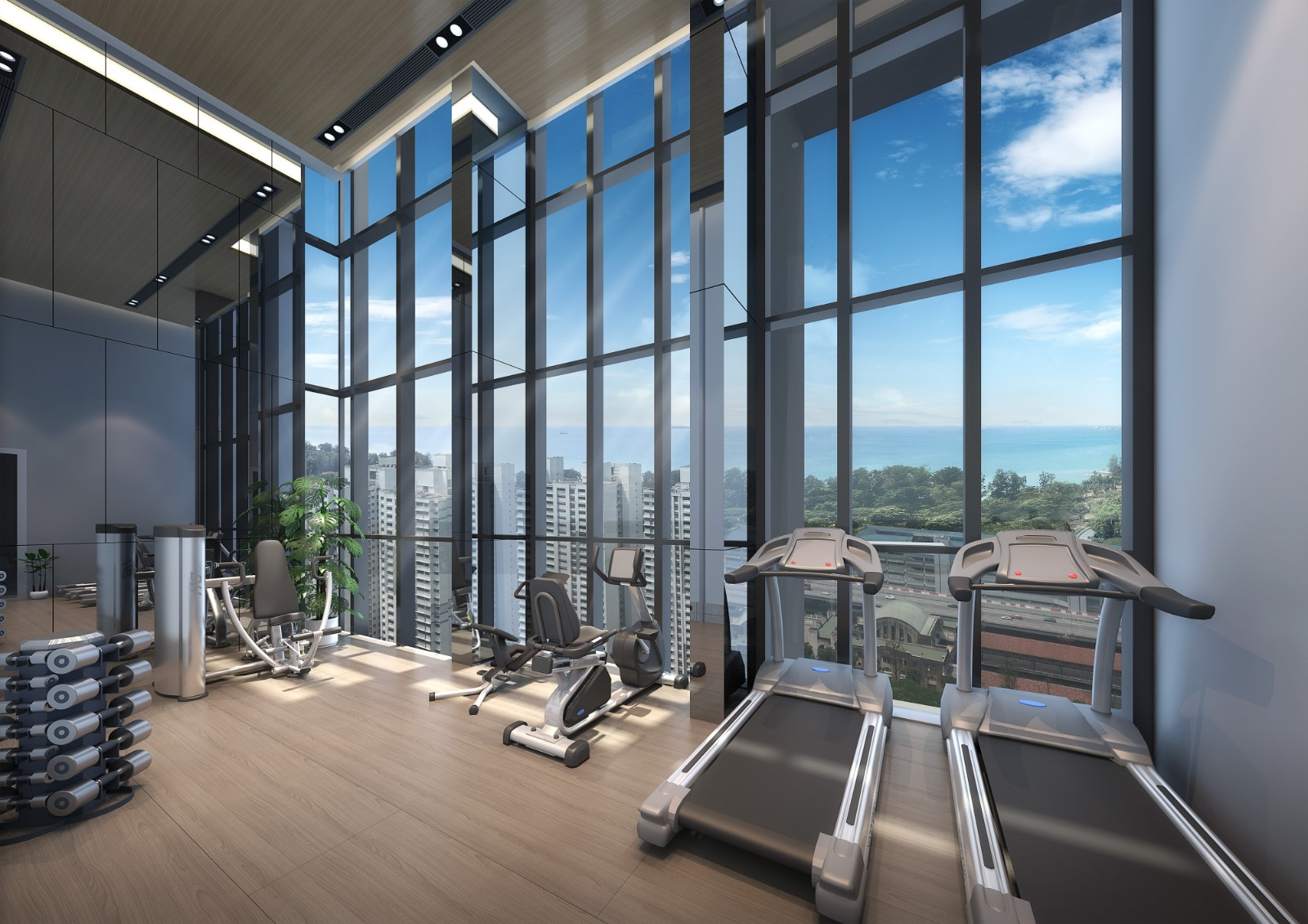 sky-everton-freehold-condo-gym-singapore